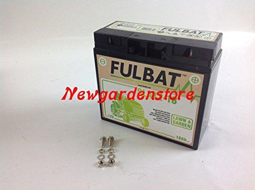 Batteria gel avviamento trattorino rasaerba sigillata 12V 18 Ah CASTELGARDEN
