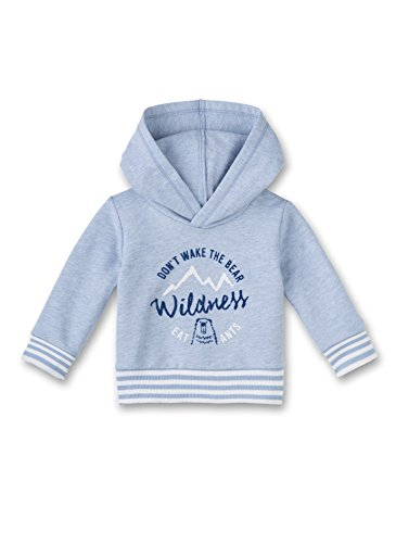Sanetta Baby-Jungen Sweatshirt 113753, Blau (Dove Melange 50193), 62