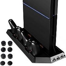 Zacro PS4 Vertical Stand de Rechargement pour Playstation 4 DualShock 4 Manette