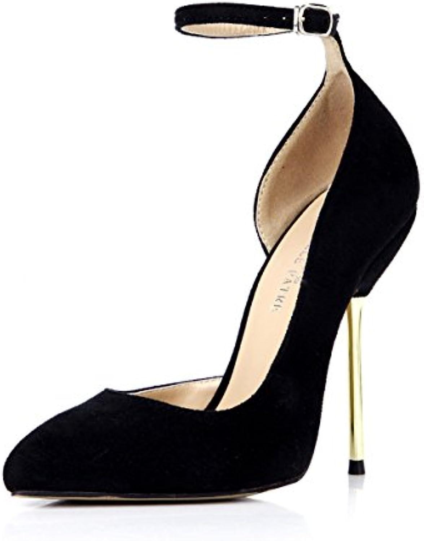 4bc447291fad Fare clic sul nuovo senso del reformer donne notte cena punto calzature  donna satin nero ferro