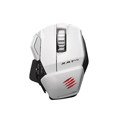 Mad Catz R.A.T.M Wireless Mobile Gaming Maus für PC, Mac und mobile Endgeräte - Weiss (Wireless-notebook-mobilität)