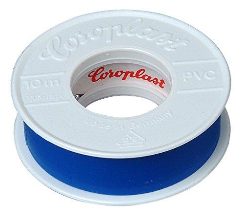 Kopp 320721085 Isolierband, 10 m lang, 15 mm breit, blau