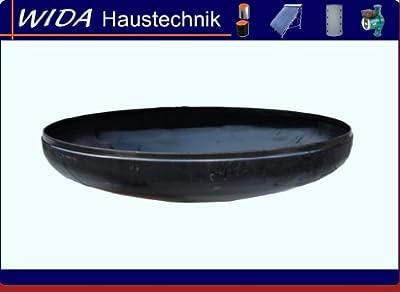 Feuerschale Ø 650 mm Klöpperboden 65 cm Wandstärke 3 mm