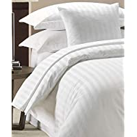 Duvet Cover Set 300 Thread Count White 100% Egyptian cotton Hotel Quality (King)