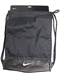 1d6d4ac563 Nike Brasilia Drawstring Backpack Black White PBZ746-010