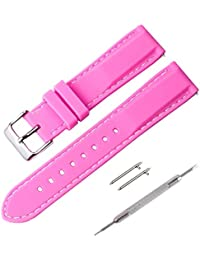 Correa Reloj, Fmway Repuesto de Correa Reloj de Silicona para Hombre y Mujer, 18mm