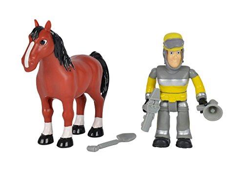 Simba 109259746 - Feuerwehrmann Sam Tierrettung Figuren Set 7,5cm, 3-sort.