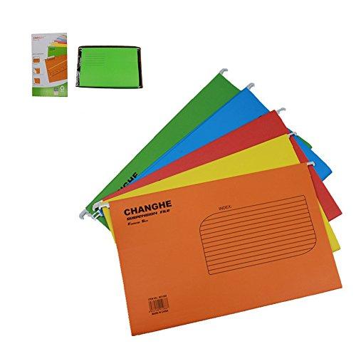 Papier Halter Dokument Ordner Datei Organizer gesetzlichen Größe für Büro A45-Packs mit Farbe - Datei-ordner Sortiert