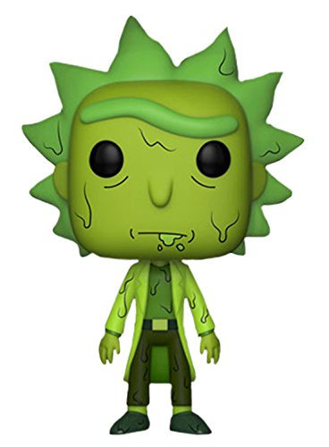 Funko Pop Animation Rick and Morty Glow in the Dark Toxic Rick Vinyl Figure 335