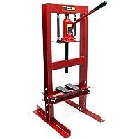 Prensa hidráulica Prensa taller Fuerza presión 6T Estampar Doblar Prensar Piezas Industria Mecánica