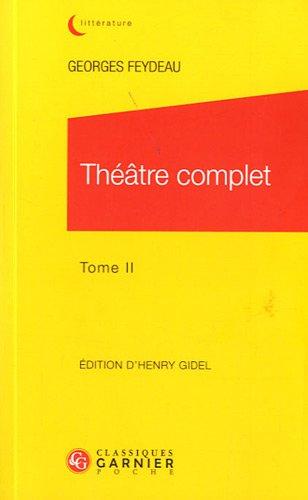 Théâtre complet : Tome 2