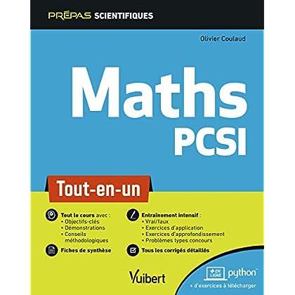 Mathématiques PCSI - Tout-en-un
