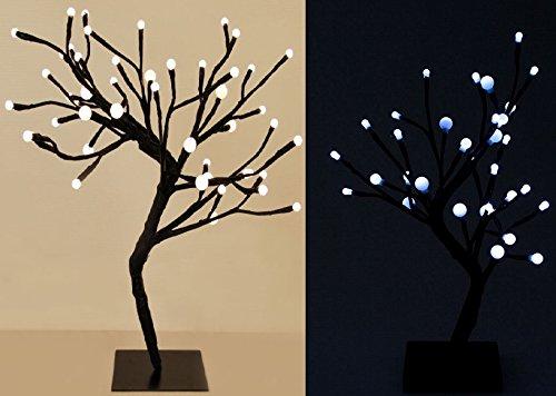 Moderne 32LED 45cm Bonsai Baum Ball Lampe Weiß Deko Lichter