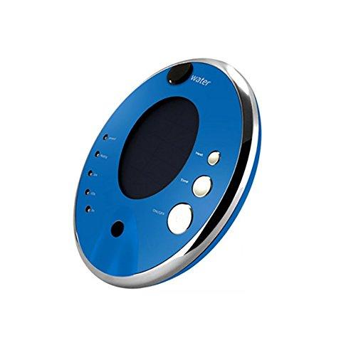 RUIX Auto Luftreiniger Solar Ionisation Aromatherapie Luftbefeuchter Auto Home Portable Dual Beseitigung Geruch,Blue