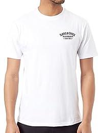 Santa Cruz White Blackletter T-Shirt