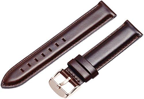 Daniel Wellington 0711DW – Correa de cuero para reloj de mujer, color marrón (18.0 mm)