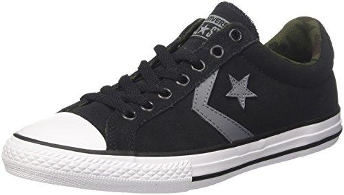 Converse One Star OX, Zapatillas Unisex Adultos, Negro (Black/White/White 001), 45 EU