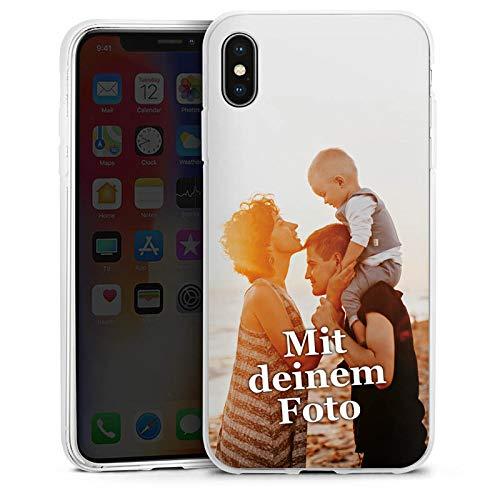DeinDesign Silikon Hülle kompatibel mit Apple iPhone XS Max Handyhülle Case Selbst Gestalten Personalisieren Zum Anpassen