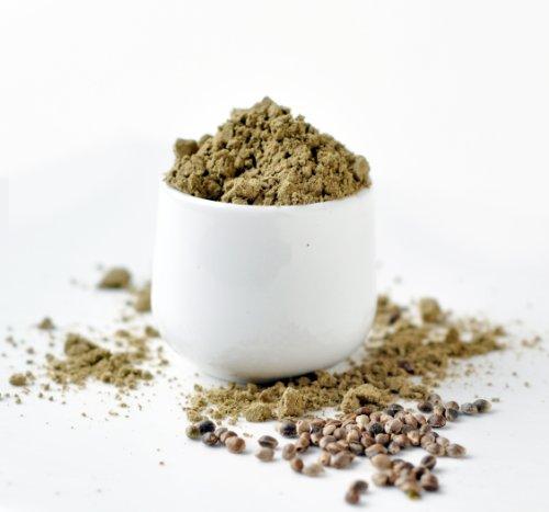 RealFoodSource EU Raw Hemp Protein Powder 50% Protein Content (4KG – 4 x 1kg)