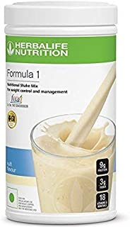 Herbalife Formula 1 Mix kulfi Nutritional Shake, 500g (White)