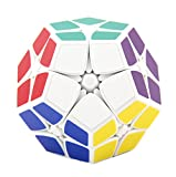 HJXDtech - Shengshou Nueva irregular Cubo Mágico 2x2x2 cubo pegatina...
