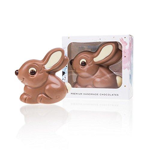 ChocoRabbit 'Manni Mümmler' - Schokoladen-Osterhase, Ostergeschenk, Schoko Osterhase, Schokoladenhase, Ostern Schokolade