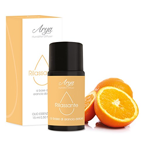 Arya HD - Sinergia Di Oli essenziali Da 15 ML - Rilassante (Arancia Dolce)