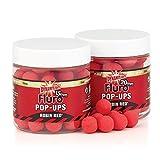 Dynamite BaitsRobin Red Fluro Pop- Up Boilies 10mm + Booster