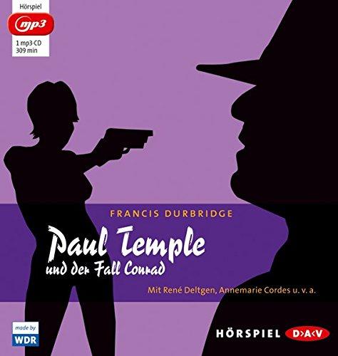 Paul Temple und der Fall Conrad (mp3-Ausgabe): Hörspiel mit René Deltgen, Annemarie Cordes u.v.a. (1 mp3-CD)