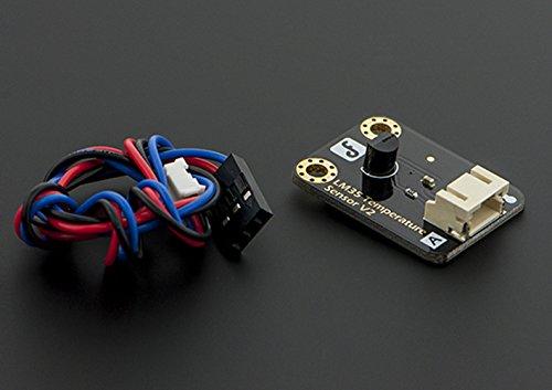 1Capteur de température linéaire LM35analogique/peut être utilisé pour détecter la température de l'air ambiant/fonctionnel: de 0°C à 100°C