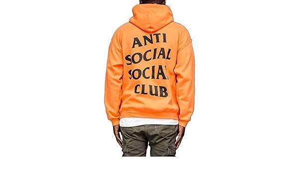 Orange Anti Social Social Club Paranoid