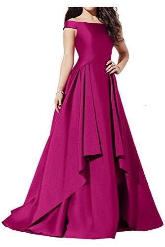 Ivydressing -  Vestito  - linea ad a - Donna Fucsia