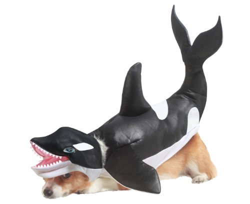 Für Kostüm Planet Animal Hunde - Animal Planet California Costumes Hundekostüm, Modell Orka
