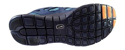 Nike Free Run 2, Chaussures de running homme midnight navy bright citrus squadron blue 404