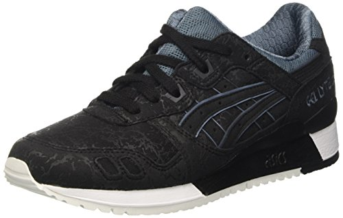 Asics Gel-Lyte Iii, Sneakers Basses Mixte Adulte Noir (Nero)