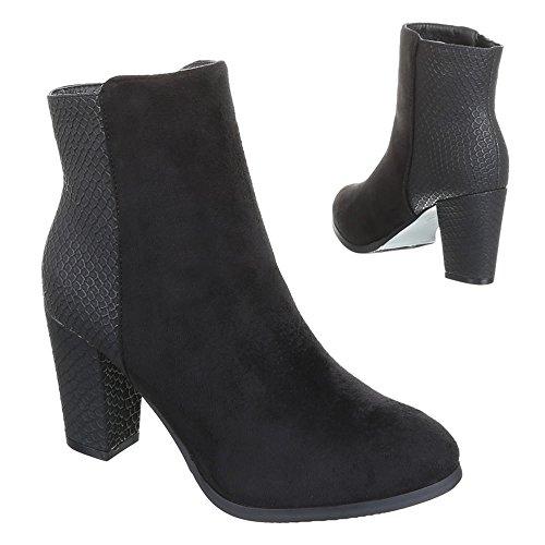 Chaussures, bottines 0–63 Noir - Noir