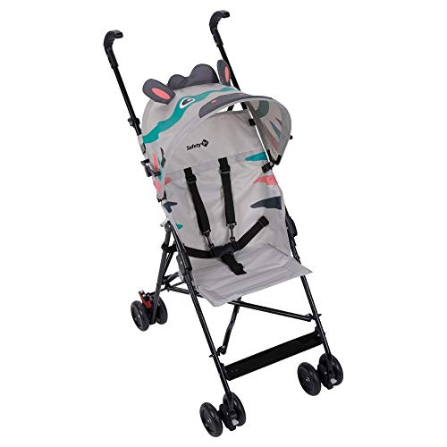 Safety 1st Crazy Peps Poussette Canne Fixe, Fun et Légère, 6 mois à 3.5 ans, Zebra