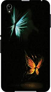 ECO SHOPEE PRINTED BACK COVER FOR Sony Xperia Z1 ARTICLE-15029