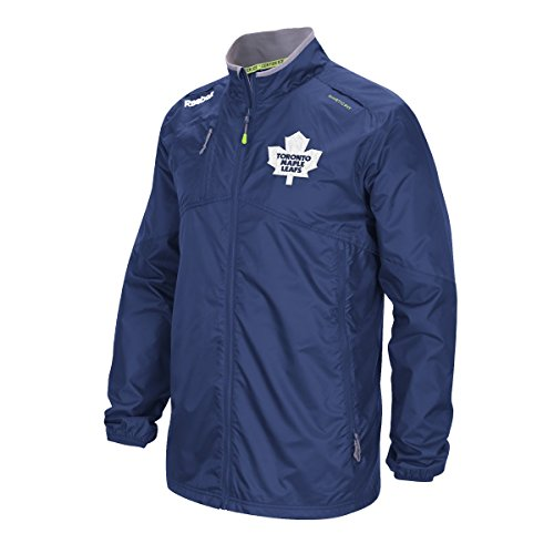 Toronto Maple Leafs Reebok 2015 Center Ice Kinetic Rink Full Zip Jacket (Maple Leaf Jacke)
