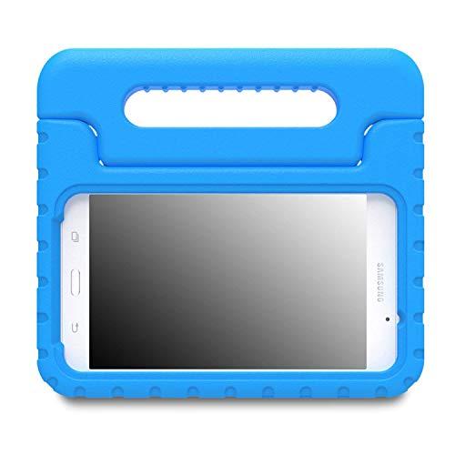 MoKo Samsung Galaxy Tab A 7.0 Hülle Case - Superleicht Eva Stoßfest Kinderfreundlich Kinder Schutzhülle mit umwandelbarer Handgriff Handle/Standfunktion für Samsung Galaxy Tab A 7.0 Zoll, Blau