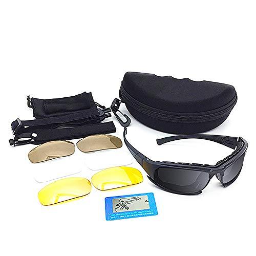 Fahrradbrille Harley Goggles Langlauf-Motorrad-Schutzbrillen Taktik-Motorrad-Schutzbrillen Retro-Helm Ultraleichtes Rahmendesign für Männer und Frauen