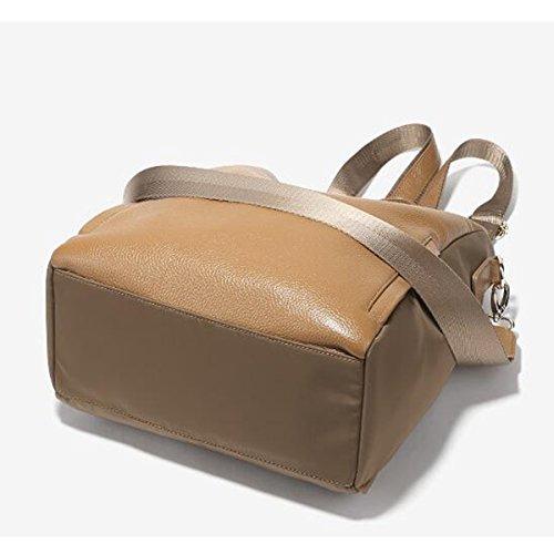 Leichter Rucksack Damen Oxford Oxford Rucksack Im Britischen Stil Brown