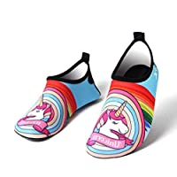 Cartoon Kids Quick Drying Swim Water Beach Shoes Casual Footwear Barefoot LightWeight Aqua Socks For Beach Pool mm