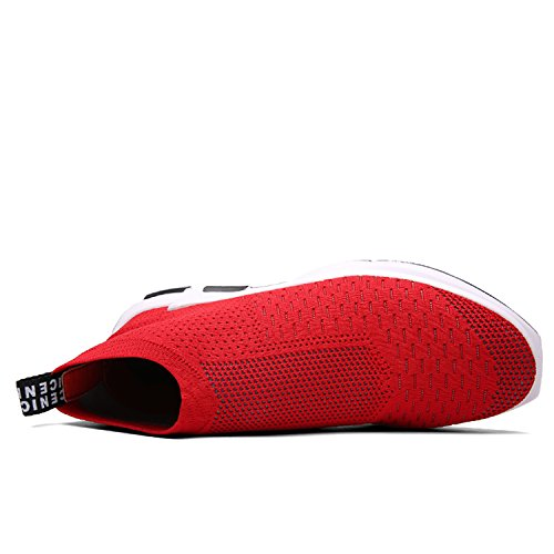 IceUnicorn Lt1659, Baskets Mode Pour Homme red