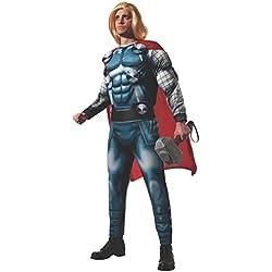 Rubies s oficial adultos de Marvel Thor deluxe disfraz para adulto–Estándar
