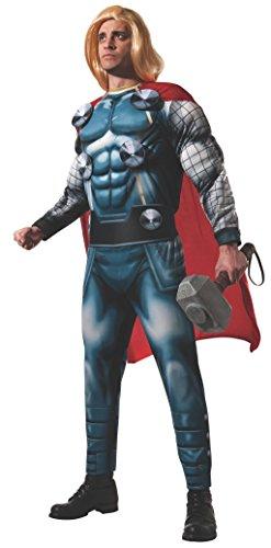 Rubie's Offizielles Marvel Thor Deluxe-Kostüm für Erwachsene, Größe ()