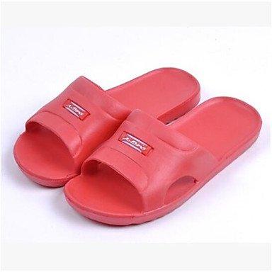 Slingback flops Grigio zhENfu amp; Rosso in Ruby piatto Casual flip gomma Blu Estate donna tacco pantofole IgRRwxqYA