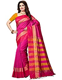[Sponsored]Rani Saahiba Art Dupion Silk Woven Saree (SKR3284_Pink )