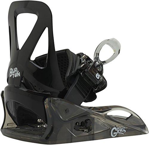 Burton Jungen Snowboardbindung GROM, Black, Youth (32-34 EU), 10577101001 (Burton Kinder Snowboard Bindung)