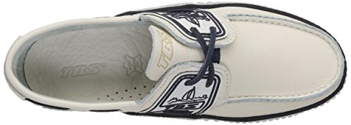 TBS Globek, Chaussures Bateau Hommes Blanc (Blanc Encre)